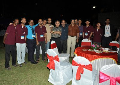 A casual moment at the banquet of ACODS 2012