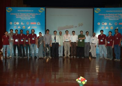 As general chair of ACODS 2012 with the organizing team