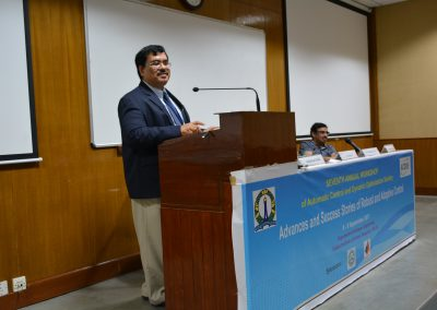 Speaking at Robust and Adaptive Control Workshop in IISc - 2017