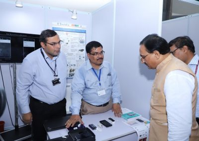 Tech Expo @ IIT Delhi 2019 - HRD Minister visiting the stall